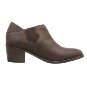 NWT WOLVERINE Brown Leather Bootie